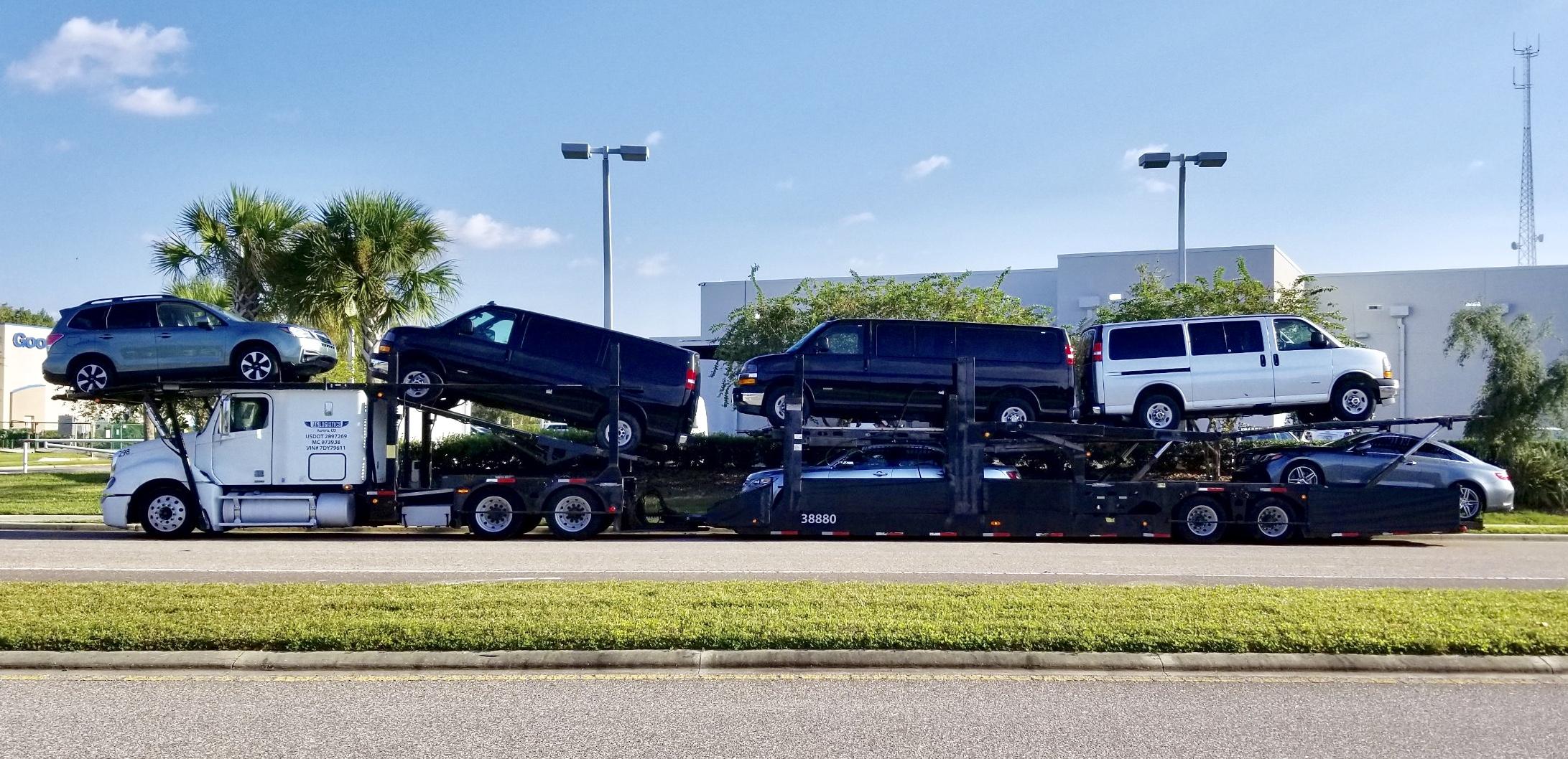 Car hauling dispatch service